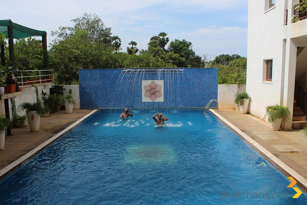 resorts swimming pool in pondicherry technology travel blog from india